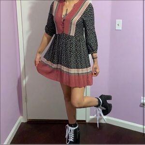 Mini boho dress ❤️